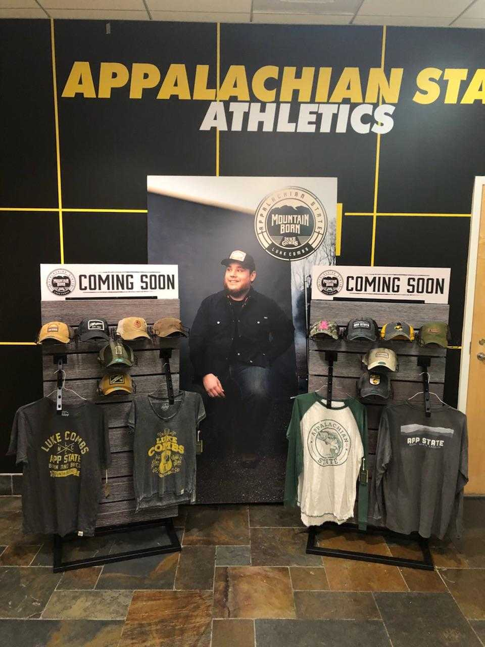 LUKE COMBS AND APPALACHIAN STATE CREATE SECOND PHASE OF MOUNTAIN BORN COLLECTION