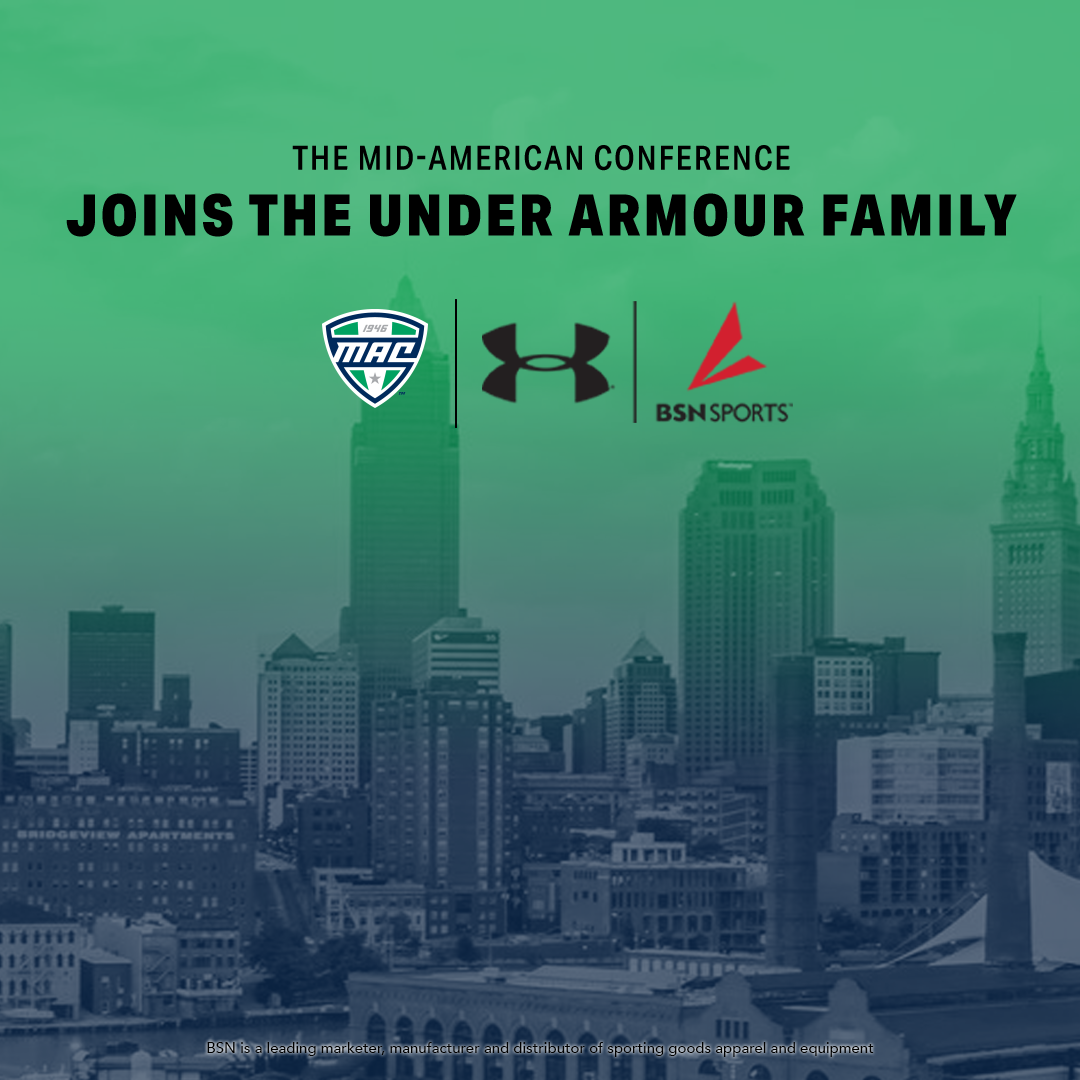 MAC ANNOUNCES RELATIONSHIP WITH UNDER ARMOUR & BSN SPORTS