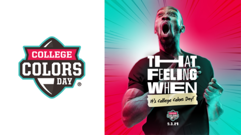 2021 College Colors Day Celebrates That Feeling When It's College Football Season Again